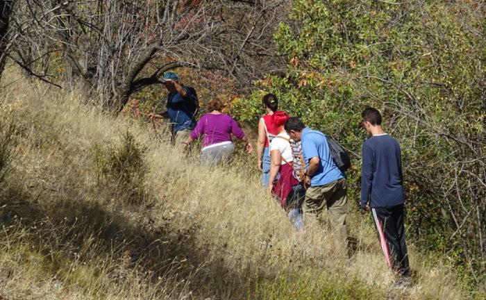 Excursion a las Calderas del Tio Lobo