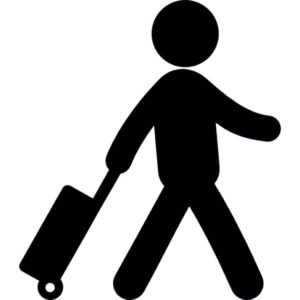 viajero con una maleta 318 29554