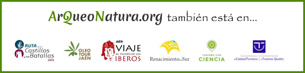 Logotipos de productos y calidades de las visitas de ArQueoNatura.org