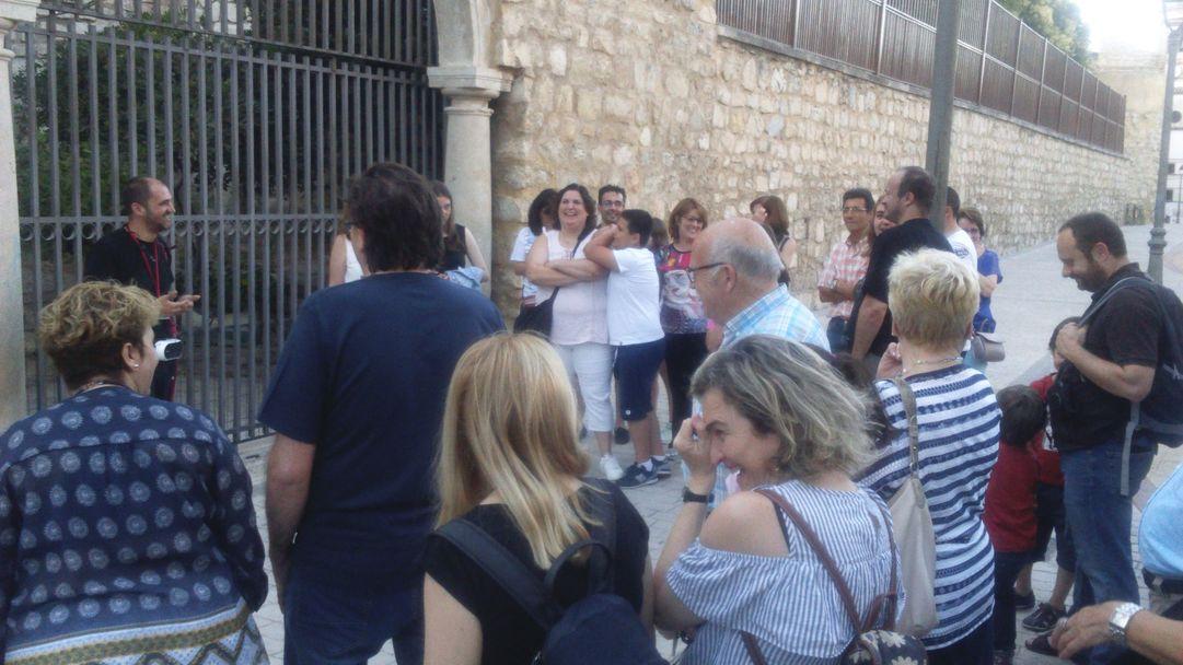 visita guiada lagarto de jaen muralla de leyenda